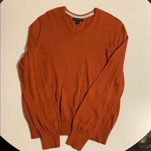 Darker orange banana republic sweater